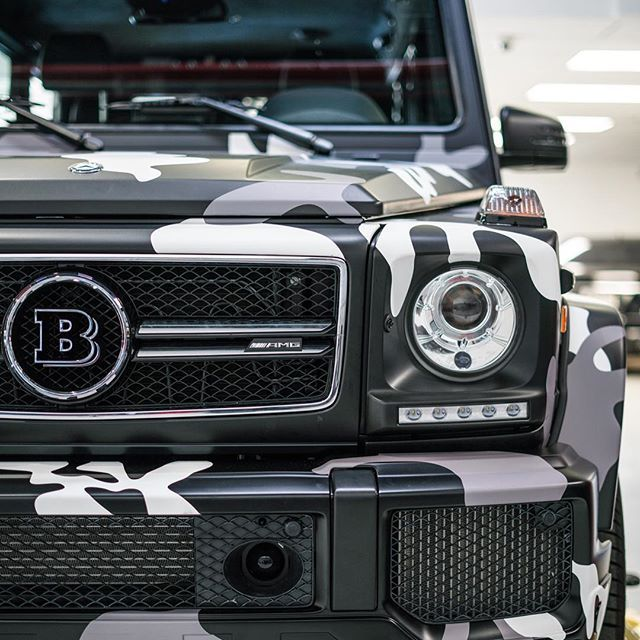Camo Brabus G63 Built By : @f355miami