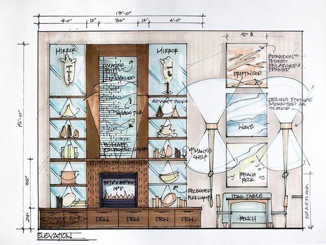 Candice Olson Interior Design Interior candace olsen sketch | archvisa | pinterest | candice olson, lofts