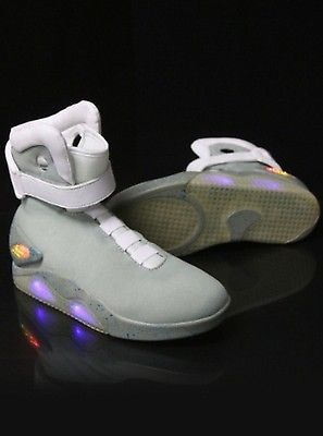 000c531710b Back To The Future 2 BTTF Air Mag Marty McFly Light Up Shoes ~ Sizes 5-15 ~  NEW!