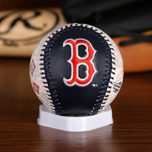 Rawlings Boston Red Sox 7 Time World Series Champions Embroidered Team Logo Collectible Baseball By Rawlings 11 89 Display Boston Red Sox Team Logo Red Sox