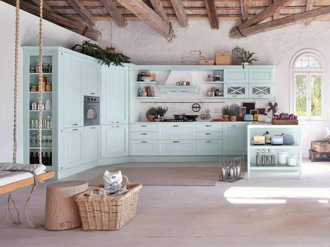 Blue Classic Kitchen