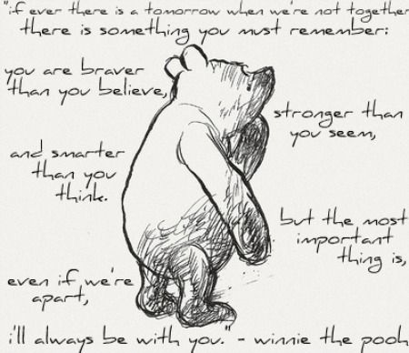 And I will ALWAYS love you.  Mommy 