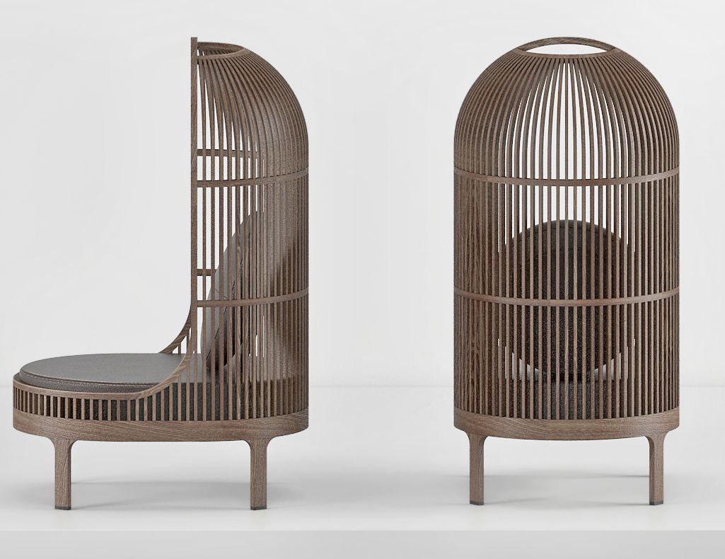 The Nest Chair, Conveys Safety And Warmth, And Carves Out A Place Apart Even