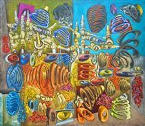 Peinture - Hantai Simon