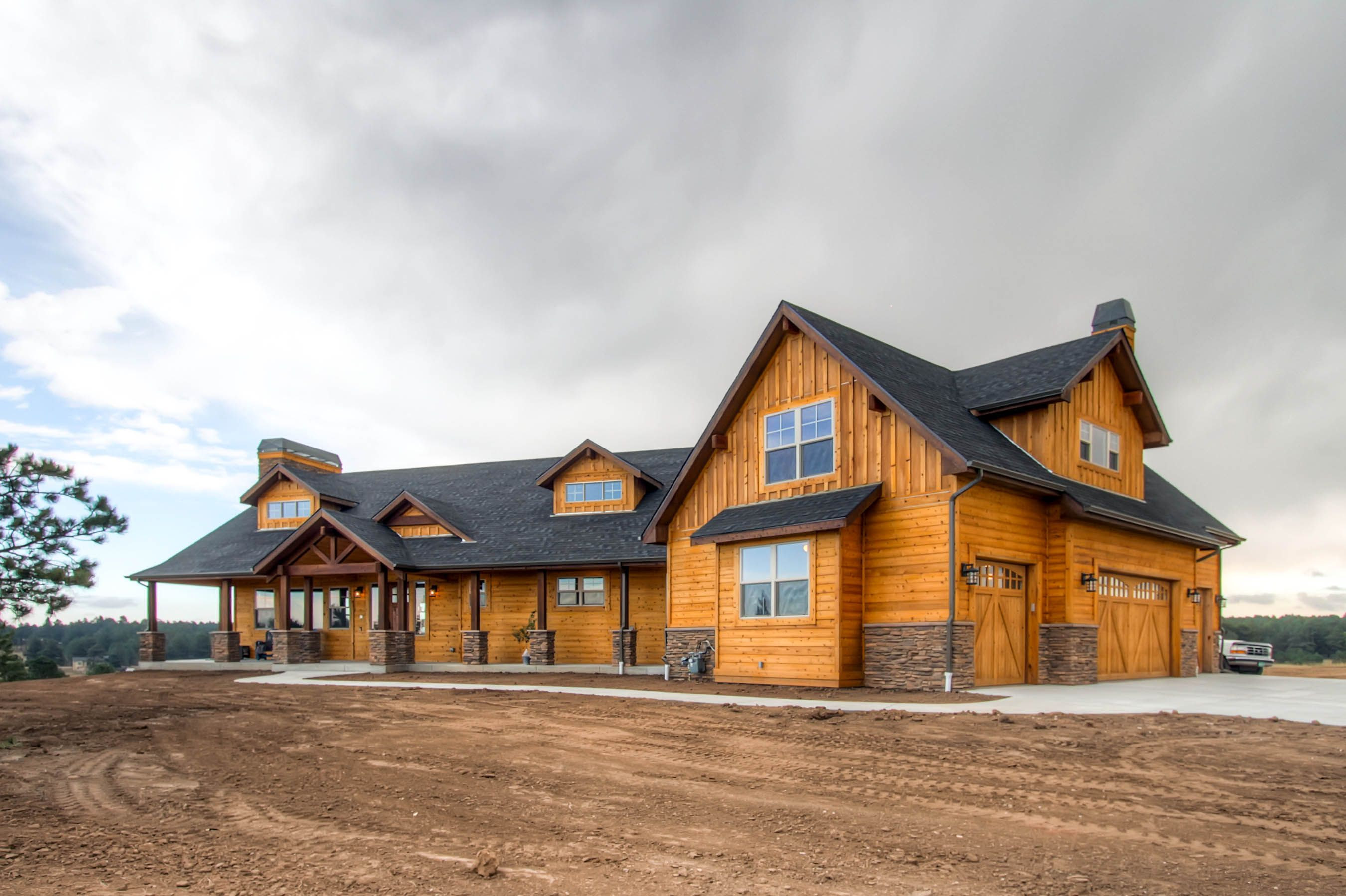 Colorado log cabin and discovering the real cost of