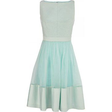 Coast Sheer Pale Blue Dress, £135 - What To Wear To A Wedding: The ...