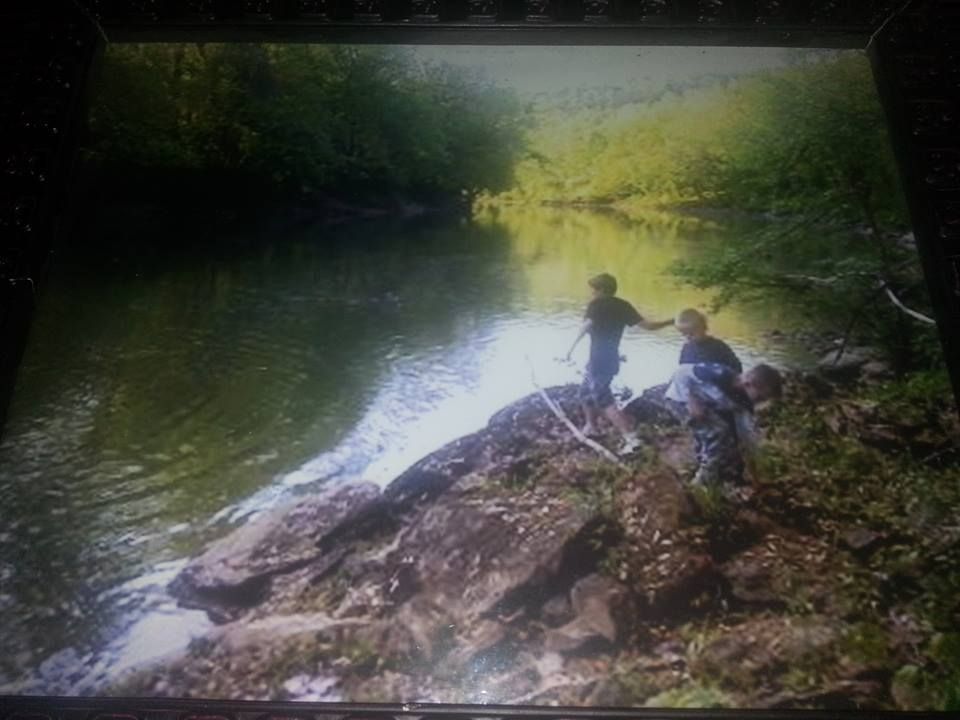 Growing up and skipping rocks on the little kanawha river