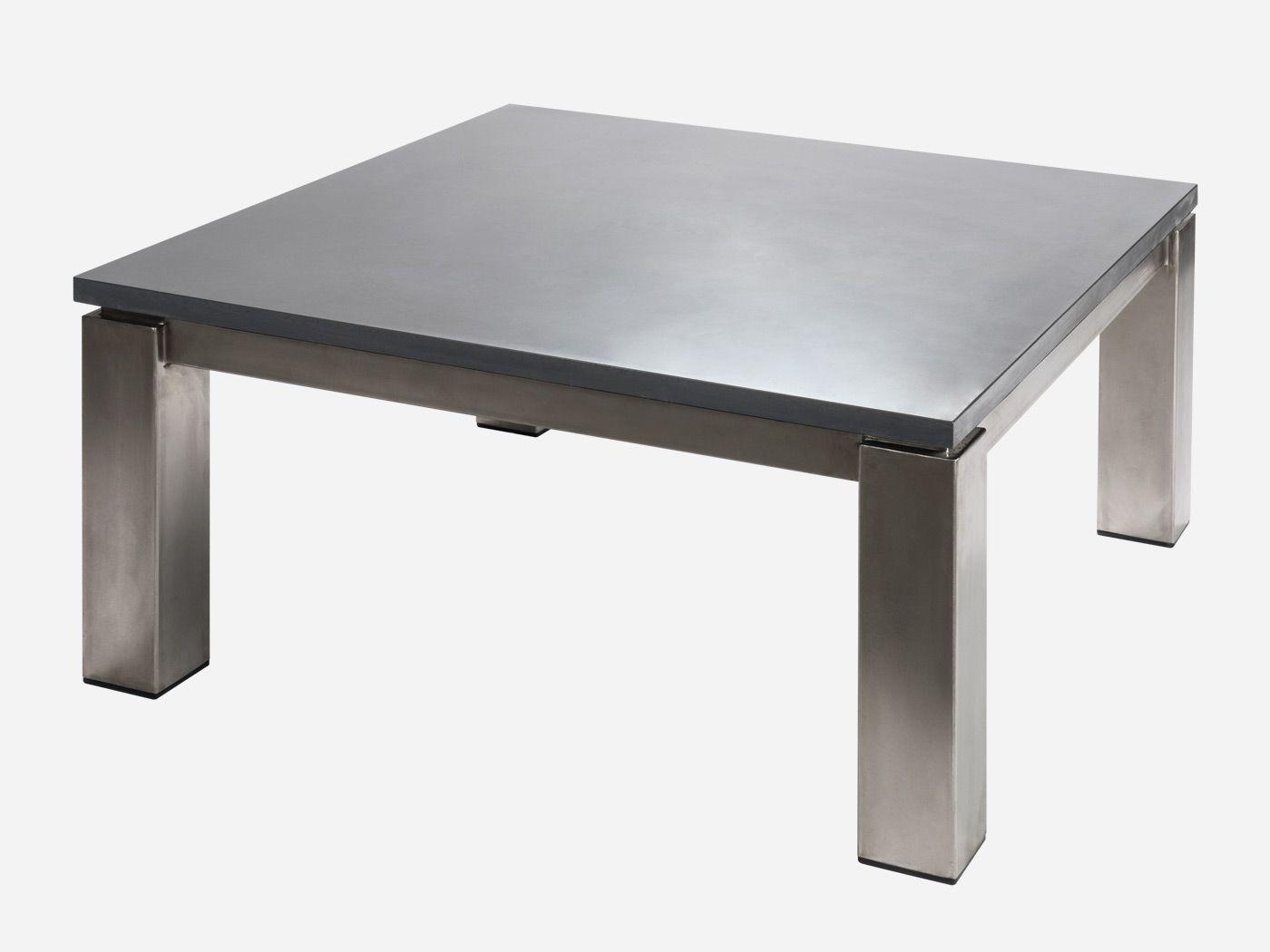 Table basse carrée de Roc de France