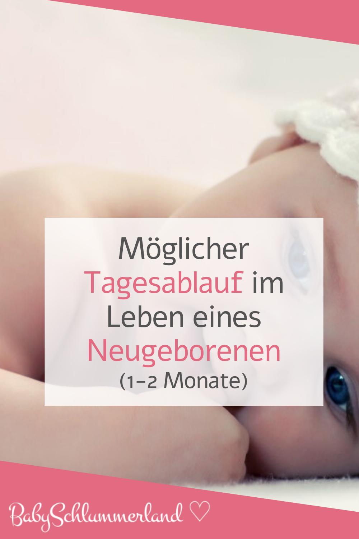 Tagesablauf Mit Neugeborenen