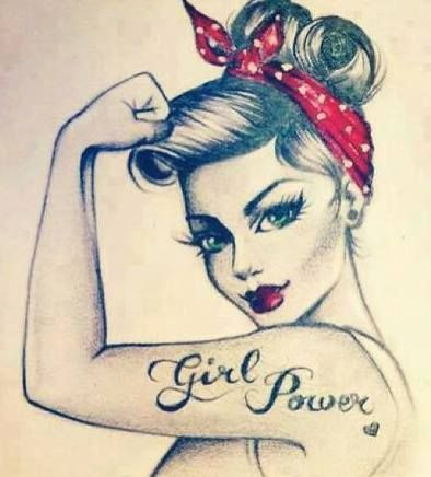 Tatouage femme pin up tuto image dessin manga ect pinterest tatouages femme pin - Femme pin up ...