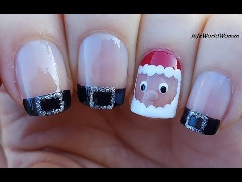 Toothpick Nail Art 17 Snowman Nails For Holidays Youtube