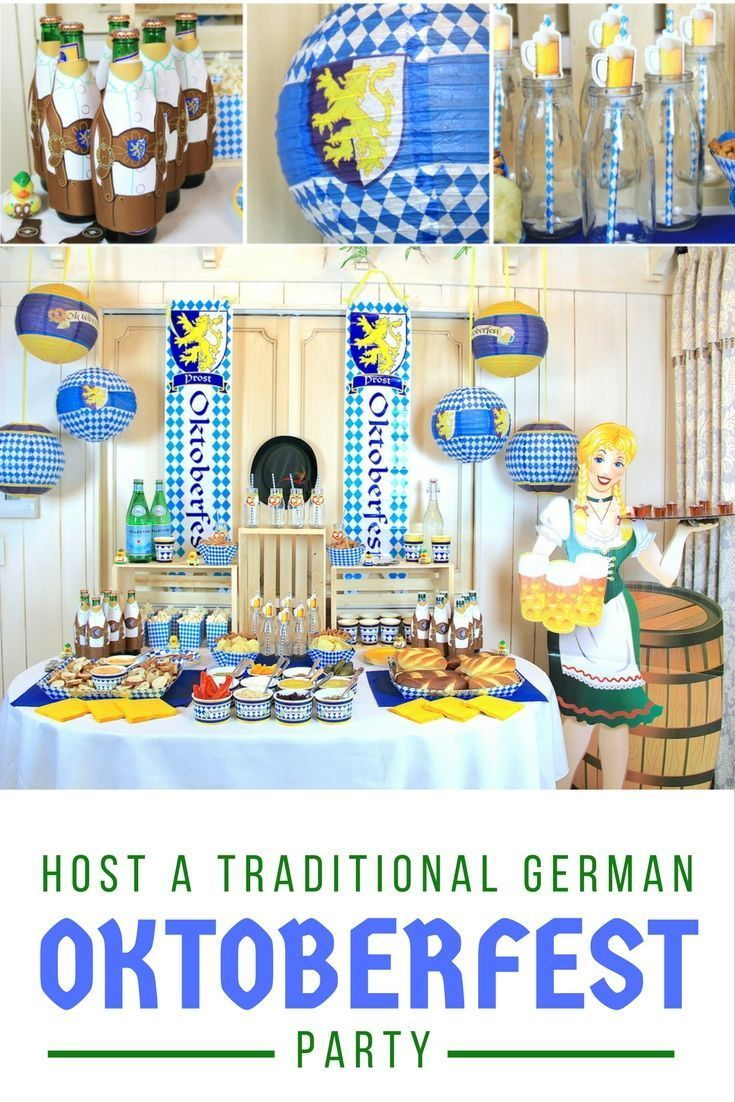 Host a Traditional German Oktoberfest Party