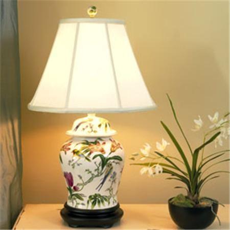 Garden party porcelain table lamp porcelain gardens and bedside desk garden party porcelain table lamp mozeypictures Gallery
