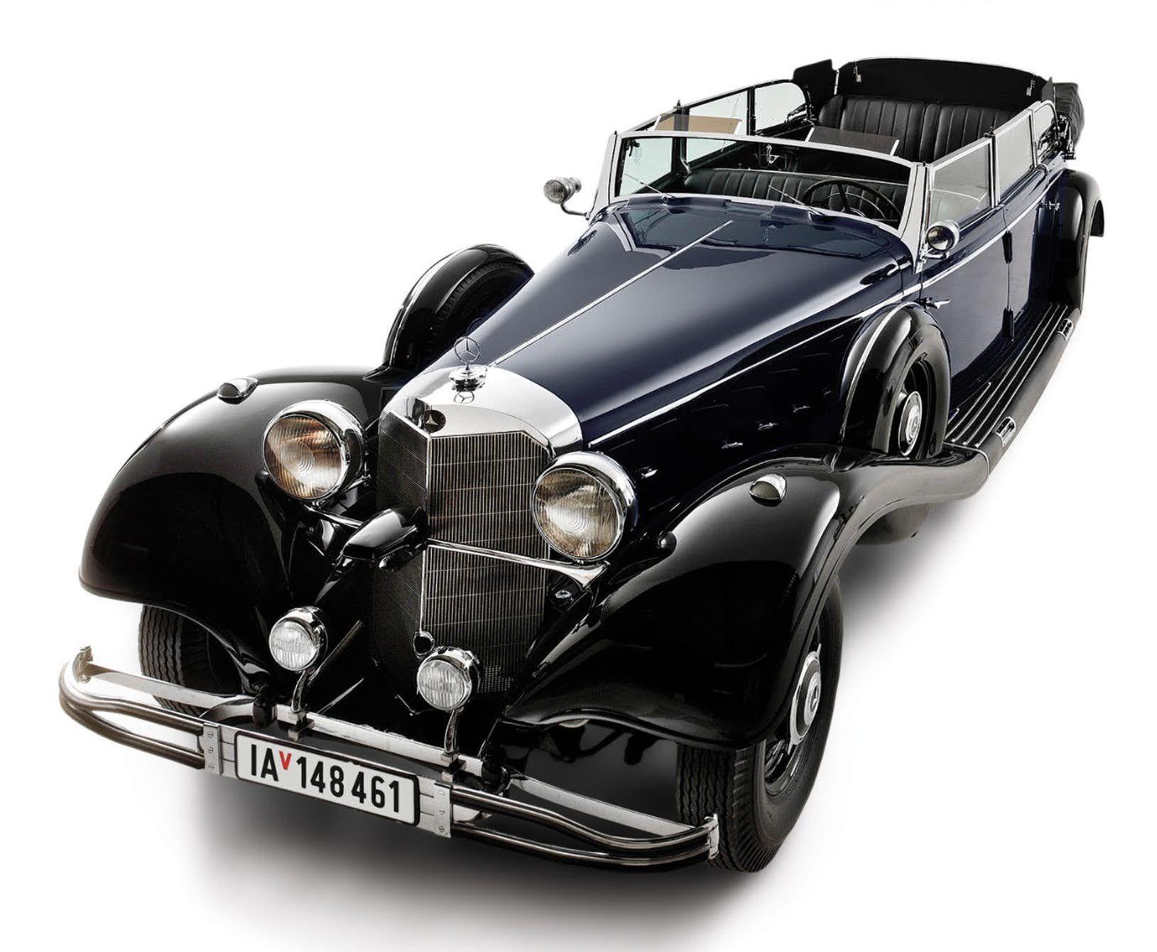 This 1939 Mercedes-Benz 770K Grosser Offener Tourenwagen was used as ...