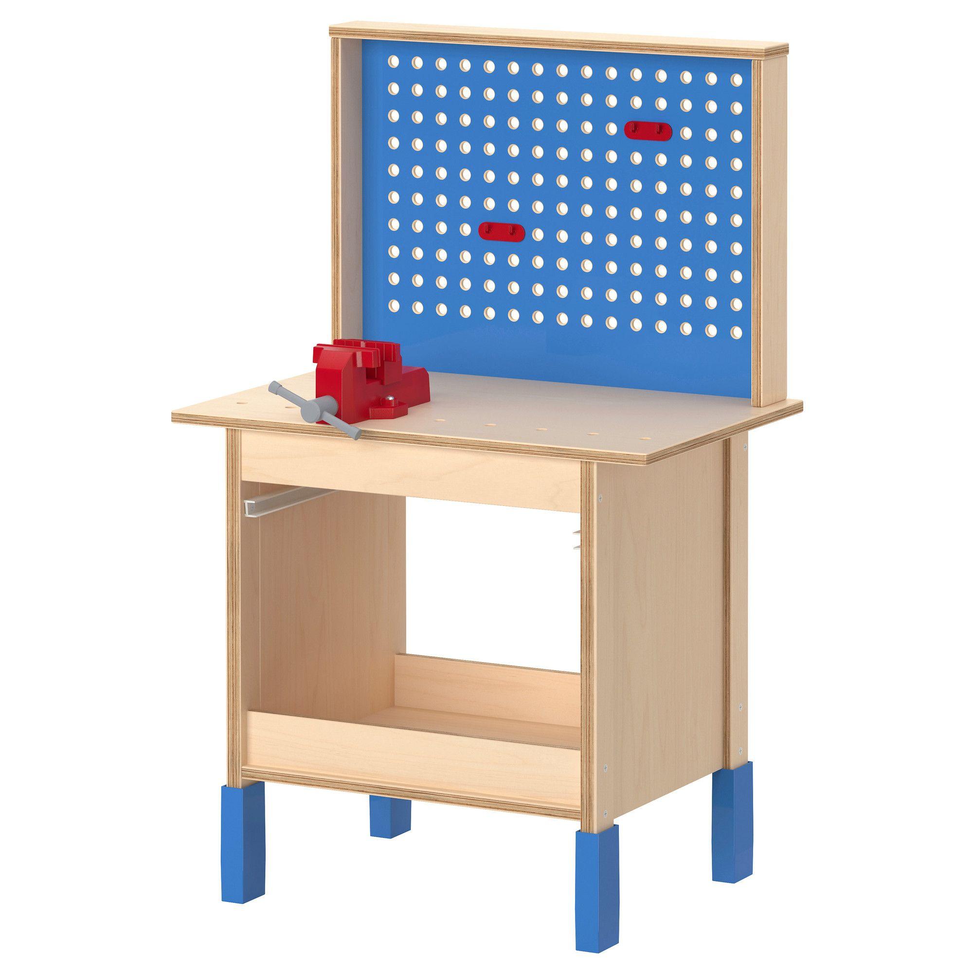 duktig werkbank - ikea | kinderkamer | ikea, playroom et bench
