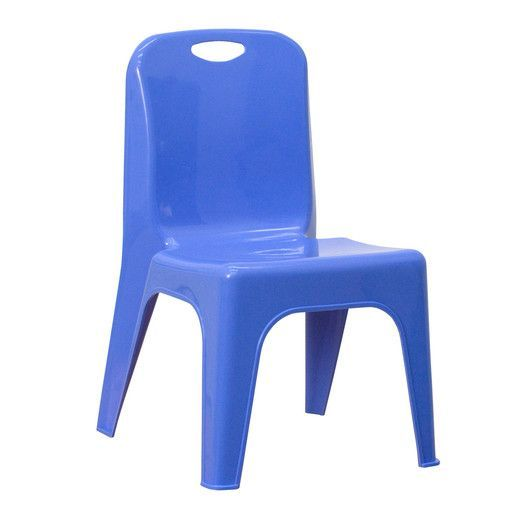 flash furniture blue plastic stackable school chair with carrying