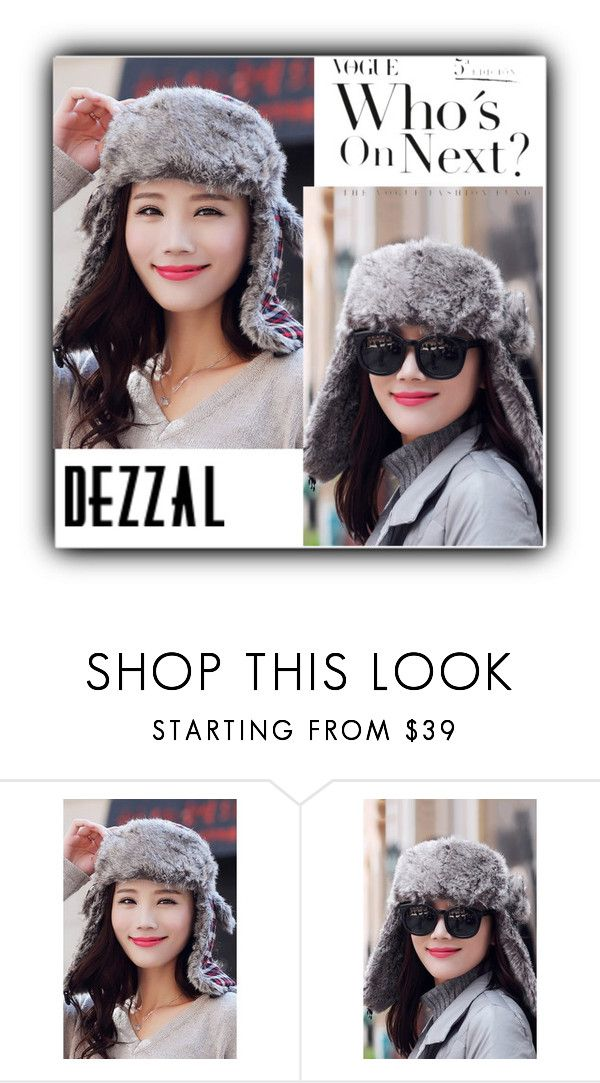 """""""prety"""" by fatimka-becirovic ❤ liked on Polyvore featuring POL, Winter, hat and dezzal"""