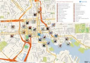 tourist maps downtown baltimore to purchase Bing images