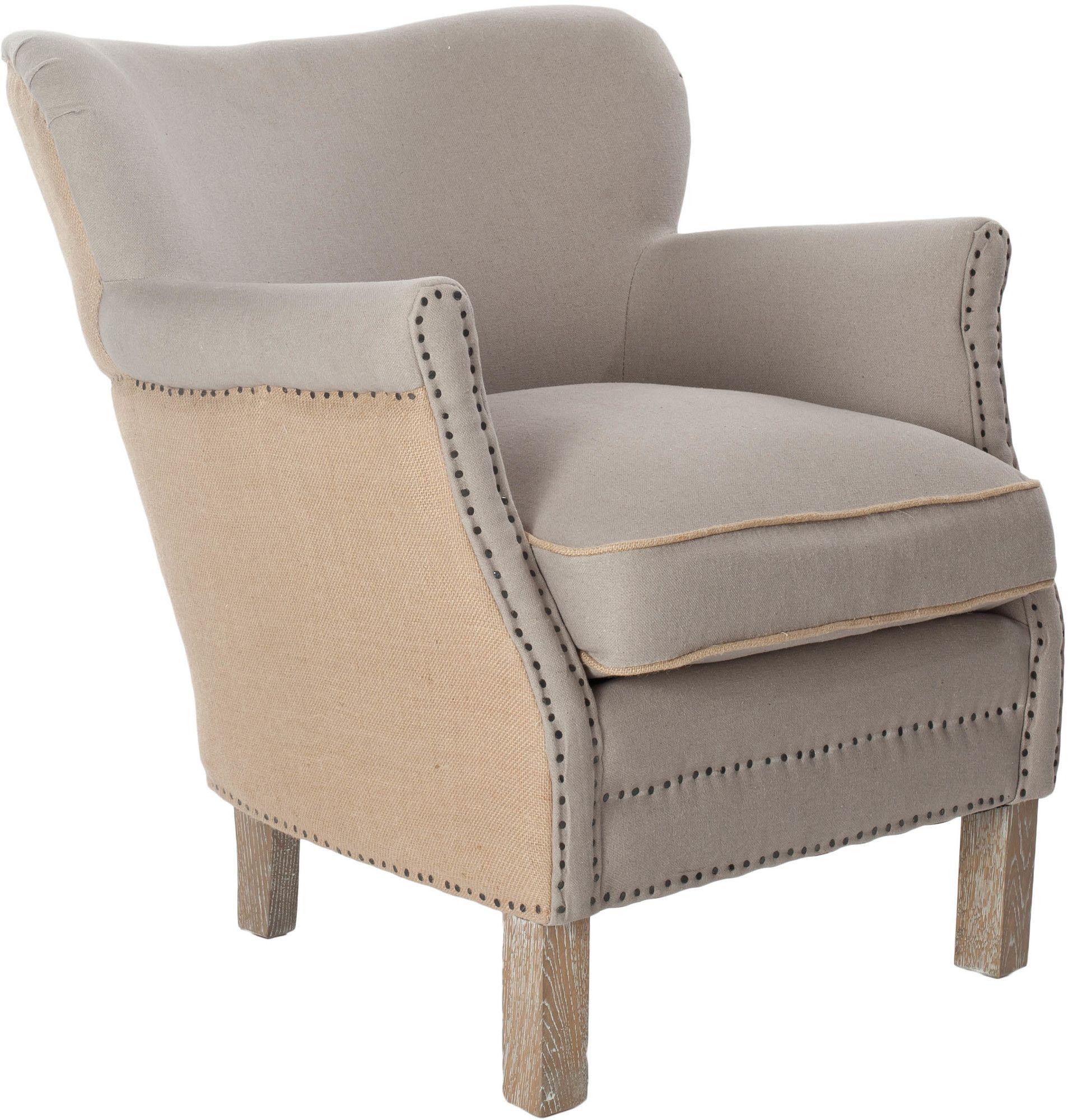 Safavieh Amanda Chair II | AllModern | Upholstered arm ...
