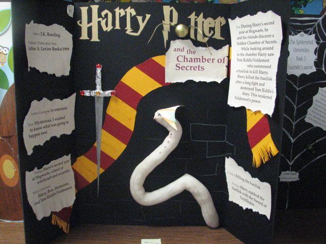 Harry Potter Book Fair Project Buchbeschreibung Buchvorstellung Harry Potter Klassenzimmer