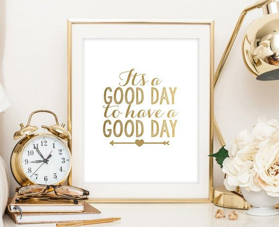 Cest Une Flèche De Clinquant Dor Bonne Journée Par Liviloudesigns