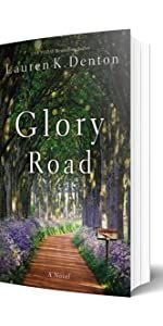 Glory Road Lauren K. Denton #romanceornot? As three generations of women navigate the uncertain paths of their hearts and futures, one summer promises to bring change—whether they're ready for it or not. At thirty-eight, garden shop owner Jessie McBride thinks her chances for romance are years behind her and, after her failed marriage, she's fine with that. She lives contentedly with her fiery mother and her quiet, headstrong daughter. But the unexpected arrival of two men on Glory Road m