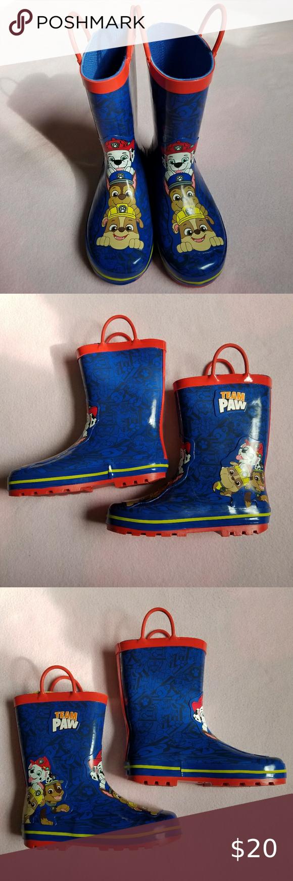 Paw Patrol Rain Boots - 13/1 Little