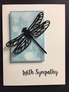 Bokeh Dots, Dragonfly Dreams, Better Together, Sympathy Card