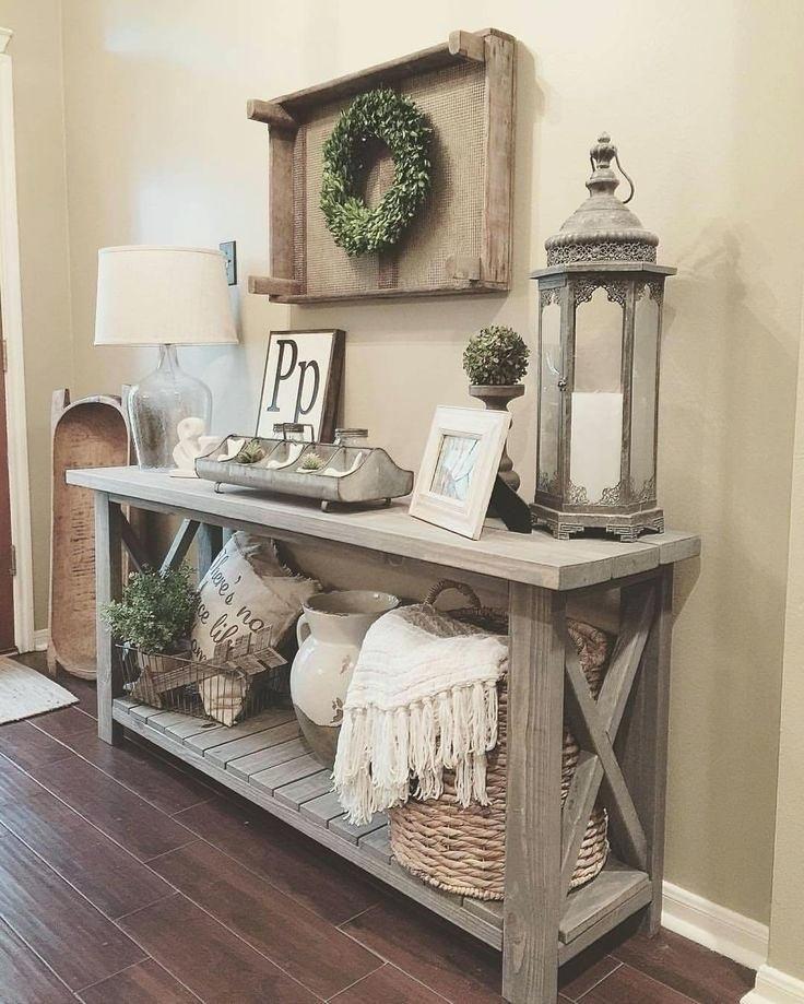 best living room decor ideas with farmhouse style also rh pinterest