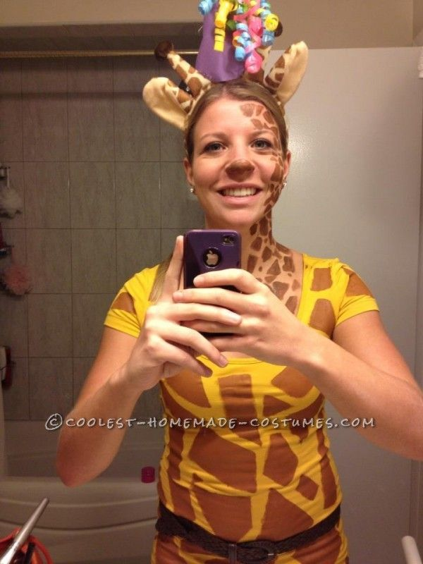 Easy and fun giraffe costume pinterest giraffe costume giraffe easy and fun giraffe costume is website is the pinterest of costumes solutioingenieria Images
