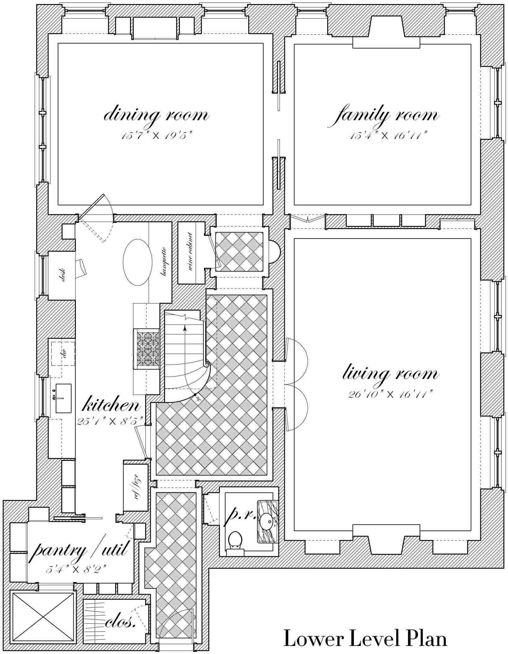 925 Park Avenue Bories Shearron Architecture Dpc Architectural Floor Plans How To Plan Apartment Floor Plans