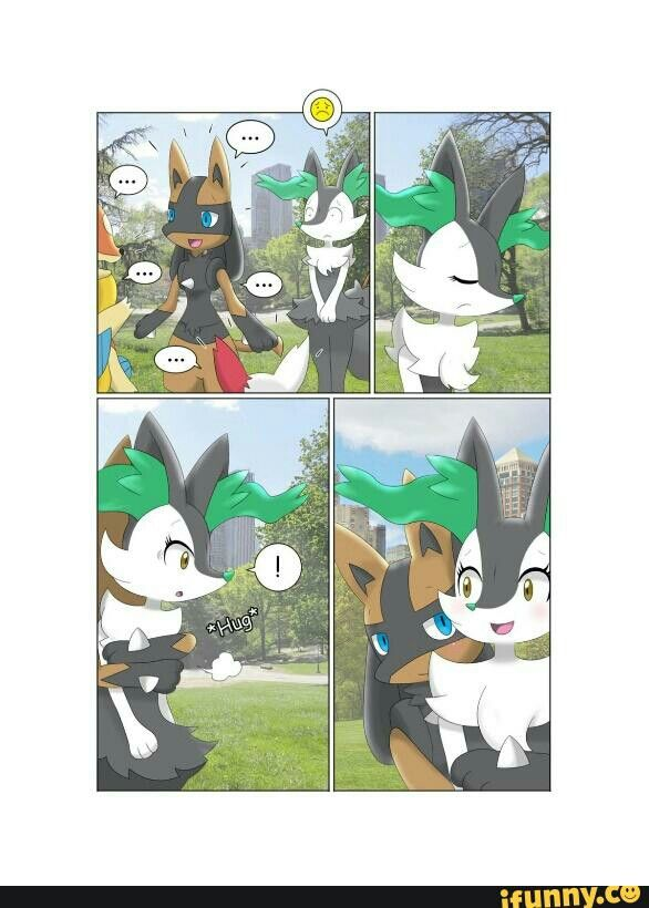 ifunny braixen and lucario by ifunny co my uploads pinterest