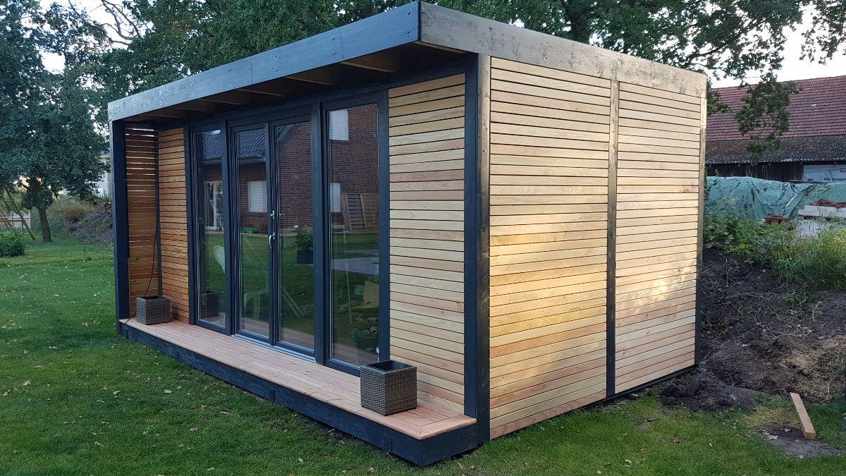 Unser neues Gartenhaus / Werkstatt