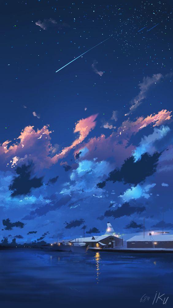 Panda Art Café   Anime scenery, Landscape art, Scenery ...