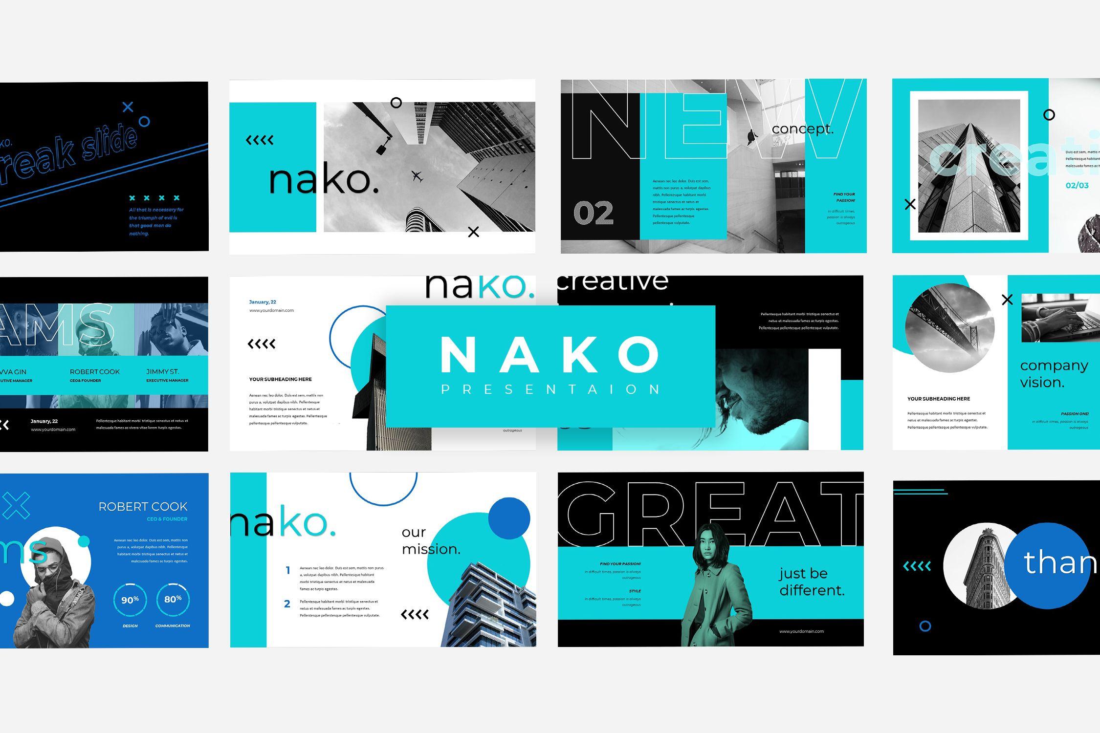 Nako – Keynote Presentation