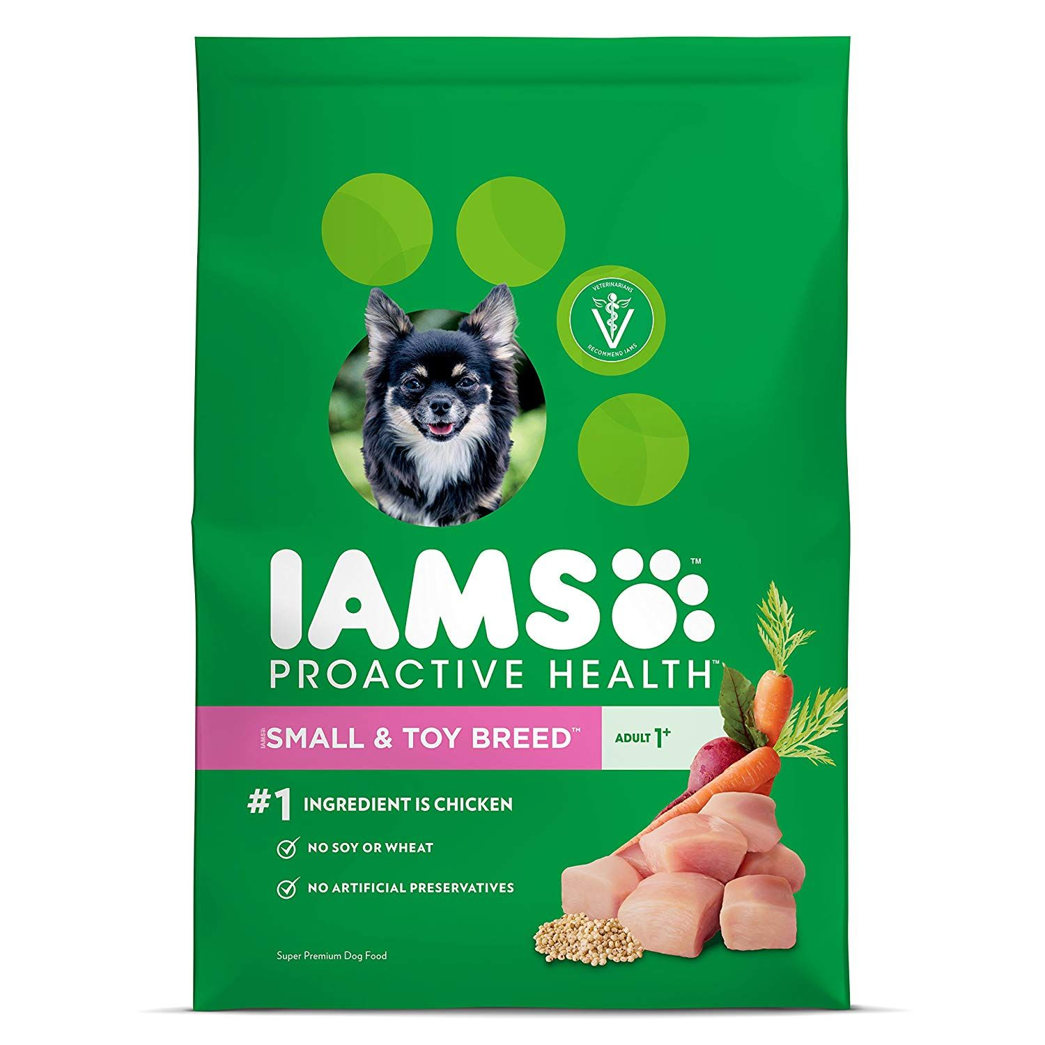Iams Proactive Health Small Breed Adult Dry Dog Food Chicken