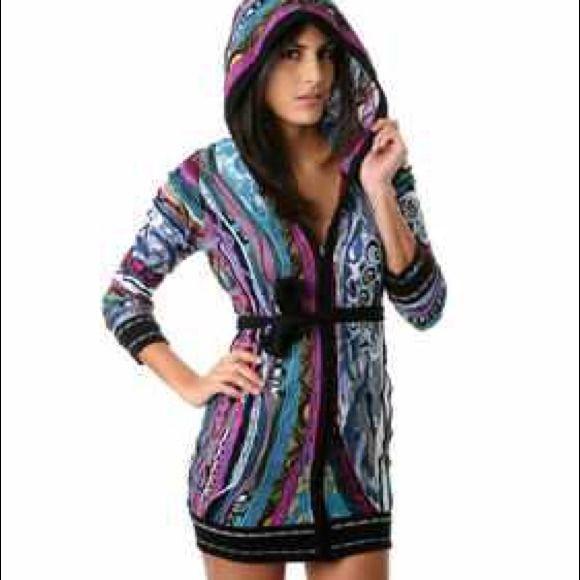 f00d501cbf0 Coogi Dresses Skirts Temp Reduced Sweater Dress With Hood