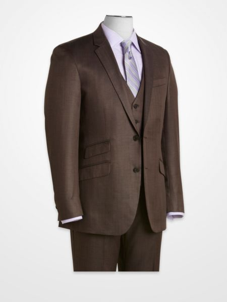 Kenneth Cole New York Brown Suit Separates Coat | K&G Fashion ...