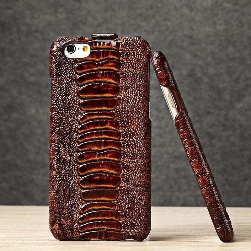 Ostrich Leg Skin iPhone Case Branded phone cases, Unique