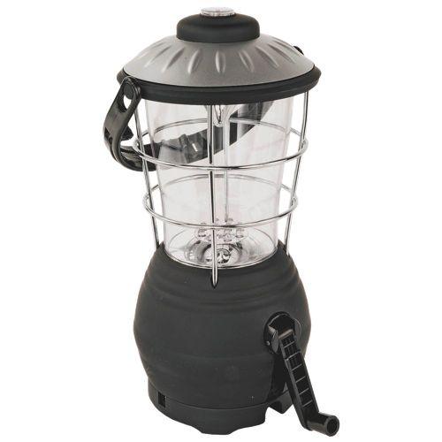 North 49 LED Dynamo Lantern - Black   - Online Only