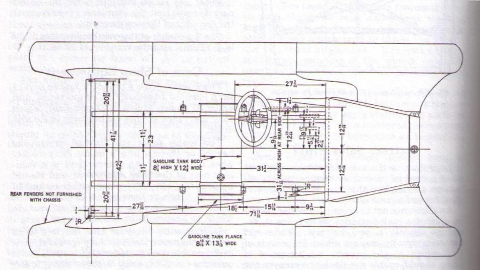 Model T Ford Forum Looking For 1926 27 Sideview Drawing With