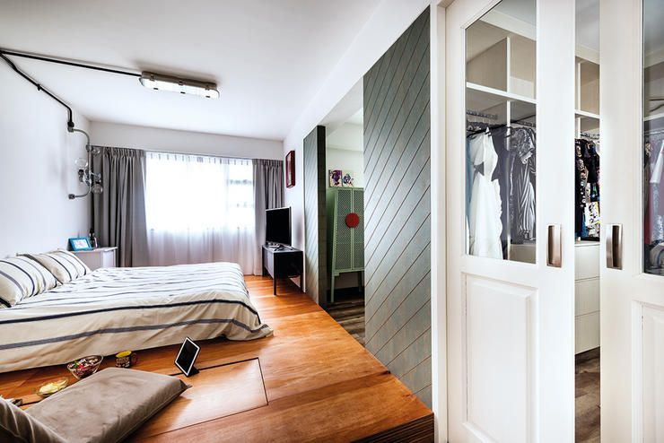 7 Amazing Hdb Flats In Sengkang And Punggol Platform Beds Bedrooms And Room