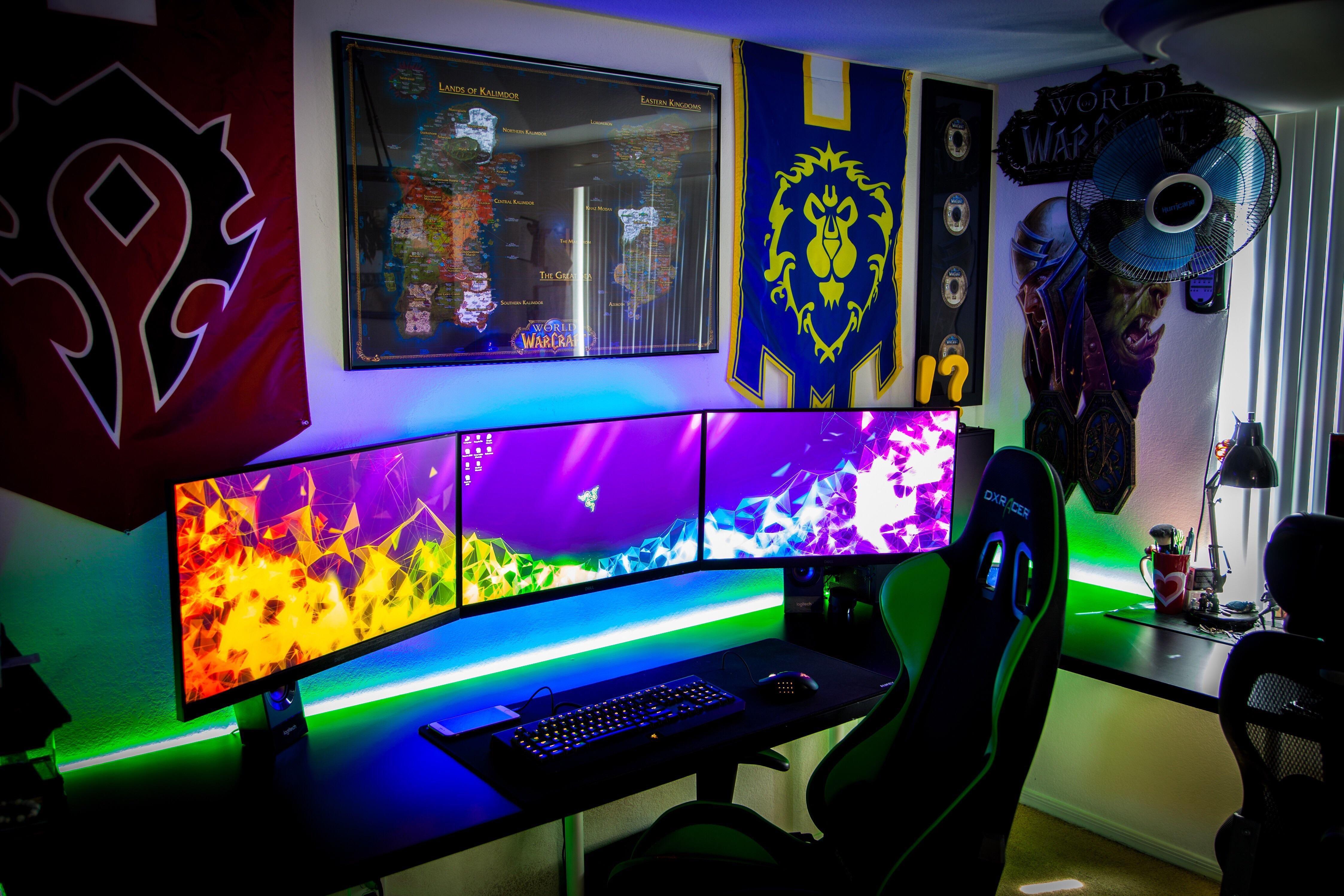 Ready For Classic Battlestations In 2021 Gaming Room Setup Gamer Setup Battlestation