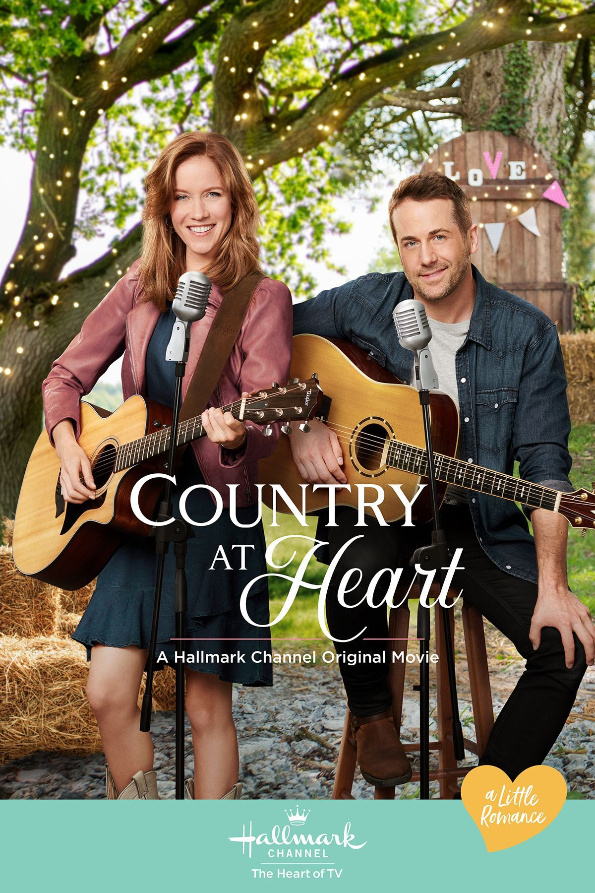 """Jessy Schram and Niall Matter star in the Hallmark Channel Original Movie, """"Country at Heart,"""" part of A Little Romance on June 6th, 9pm/8c. #HallmarkChannel"""
