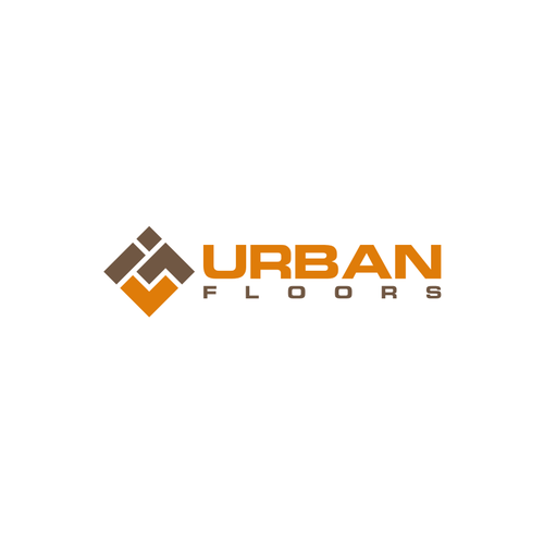 Urban Floors Have Some Fun Creating An Urban Logo For A Current Trends Flooring Company Urban Logo Company Logo Design Logo Design