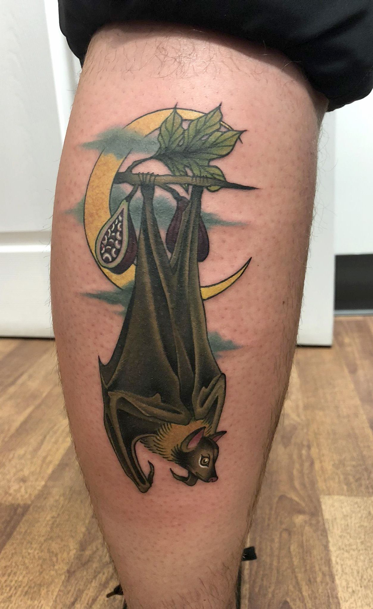 Tiffany Sutton Tattoo Artist: Fruit Bat Tattoo, Plymouth, Michigan. North Main Tattoo