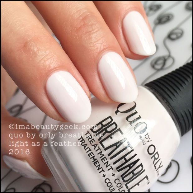 QUO BY ORLY BREATHABLE NAIL POLISH | Swatch, Orly nail polish and ...