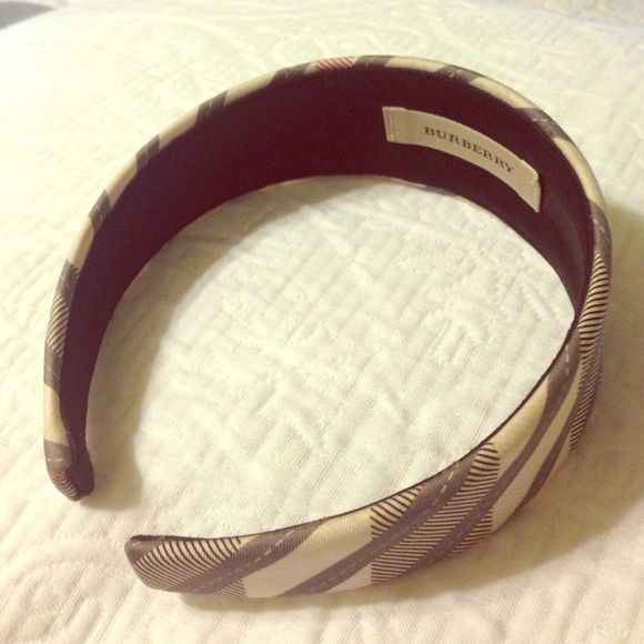 authentic burberry headband