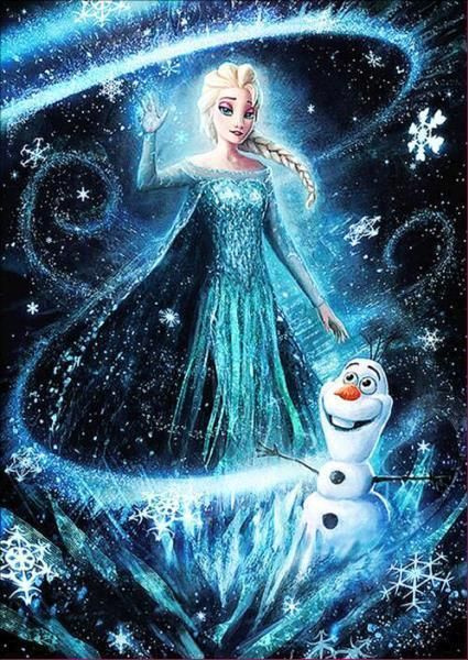 Princess Diamond Painting Round Disney Princess Frozen Frozen Disney Movie Disney Princess Wallpaper