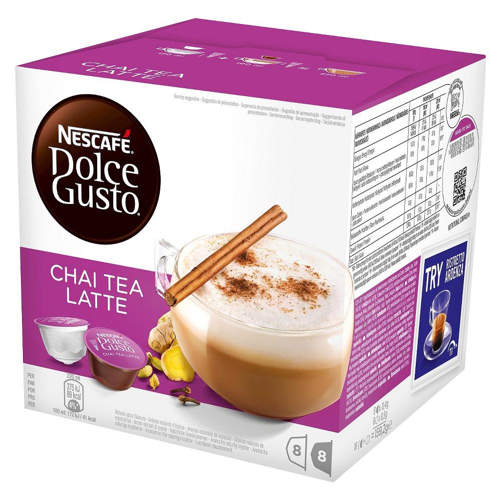 Nescafe Dolce Gusto Chai Tea Latte Capsules 8ct